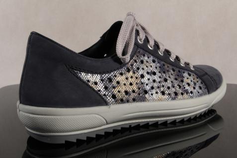 Rieker Damen M6015 Schnürschuh, Halbschuh, Sneaker, blau, M6015 Damen NEU! 01d4ae