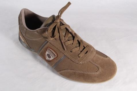 Dockers Schnürschuhe Sneaker braun, Halbschuhe braun, Sneaker Echtleder NEU! 9cbf95