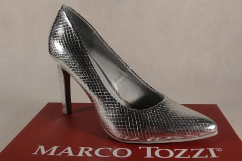 Marco Tozzi Damen Pumps Slipper silber 22415 NEU!