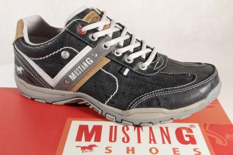 Mustang Herren Schnürschuhe Sneakers NEU Halbschuhe Sportschuhe 4027 stein/grau NEU Sneakers 3e8cee