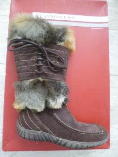 Sally O'Hara Damen Stiefel Winterstiefel Boots Boots Winterstiefel braun Leder 26459 Neu!!! a98d9f
