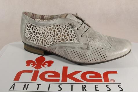 Rieker Slipper Sneakers Halbschuhe Sportschuhe Ballerina grau 51928 NEU