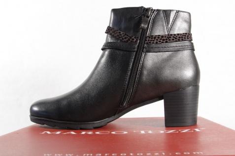 Marco Tozzi Stiefel 25392 Damen Stiefel, Stiefelette, Stiefel Tozzi Echtleder schwarz NEU! acef6c