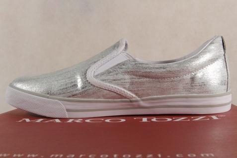 Marco Tozzi 24611 Damen Slipper Ballerinas silber 24611 Tozzi NEU! 9ec9c1