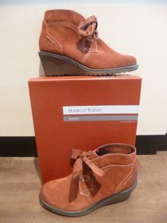 Marco Tozzi Stiefel Damen Stiefel Stiefeletten Schnürstiefel Stiefel Tozzi orange NEU!! d88023