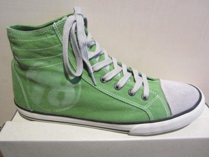 S.Oliver Stiefel/Boots zum Schnüren, grün, Textilfutter, Gummisohle NEU