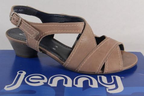 Jenny by Sling Ara Sandalen Sandaletten Sling by Echtleder grau NEU! fad182