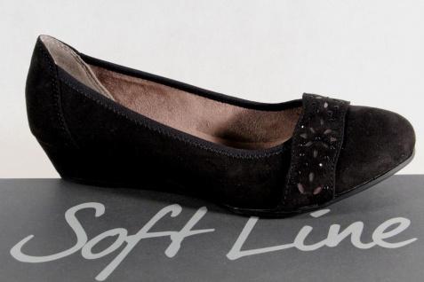 Soft Line Pumps by Jana Damen Pumps Line Slipper schwarz Weite H NEU! 061e9e