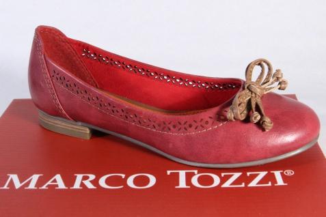 Marco Slipper Tozzi Ballerina 22115 Slipper Marco Halbschuhe Pumps rot NEU!! a8af35