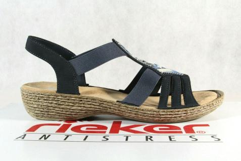 ee683df2e81b92 Rieker Damen Sandalen Sandaletten Sandale blau 65807 NEU!! - Kaufen ...