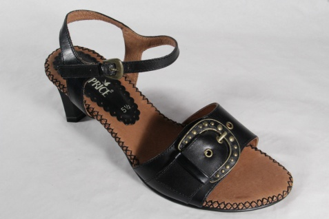 Damen Caprice Sandaletten Sandalen Sandaletten Caprice Echtleder schwarz Neu! 8026cc