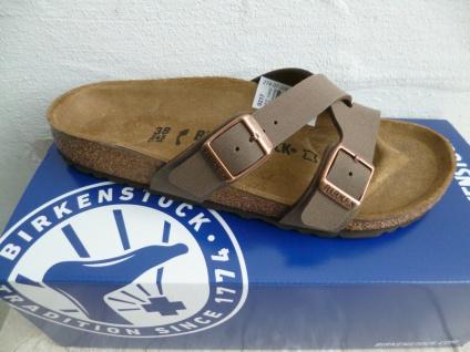 Birkenstock Yao Balance Pantolette Pantoletten Sandale mocca 1016329 NEU!
