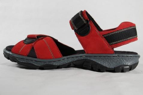 Rieker Damen Sandale Sandalen Sandalette KlettverschlußNEU!! 68851 rot, KlettverschlußNEU!! Sandalette c31114