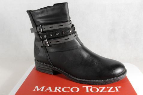 Marco Tozzi Stiefel Stiefelette Stiefel Stiefeletten Stiefel Tozzi schwarz 25413 NEU!! 9a582b