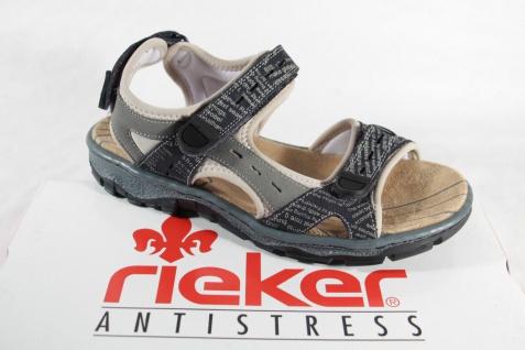 Rieker grau Damen Sandalen Sandale Sandaletten grau Rieker Klettverschluß 68872 NEU!! 8883b7