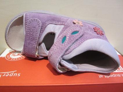 Superfit Mädchen Lauflern Sandale Neu Sandalette flieder Leder Lederfußbett Neu Sandale !!! 88f639