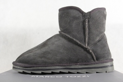 Marco Tozzi Stiefel grau Stiefelette Boots Winterstiefel grau Stiefel 26822 NEU!! fe9f46