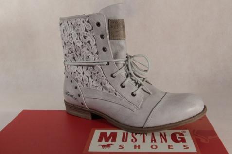 Mustang Stiefel Stiefeletten Schnürstiefel Stiefel NEU! ice NEU! Stiefel 6f049f