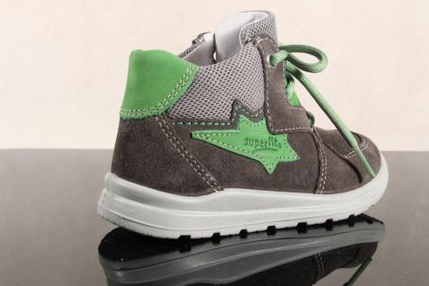 Superfit Jungen LL-Stiefel grau/grün Lederfußbett !!! 00324 Neu !!! Lederfußbett 0735ad