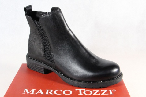 Marco Tozzi Damen Stiefelette Stiefel Winterstiefel Boots schwarz 25437 NEU!!