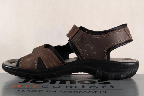 Jomos Herren Sandale braun Sandalen Sandalette Sandaletten Leder braun Sandale 504606 NEU a25de6