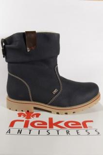 Rieker Z1480 Tex Damen Stiefel Stiefelette blau wasserdicht NEU