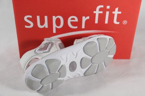 Superfit Mädchen Leder Sandalen Sandaletten weiss Lederfußbett Leder Mädchen NEU!! cd0b3f