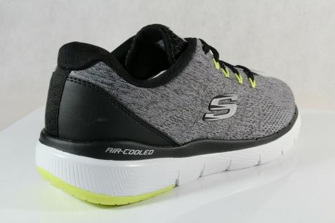 Skechers Herren Schnürschuhe Sneakers Sportschuhe grau NEU! - Vorschau 4