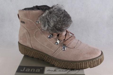 Jana-Tex Damen Stiefel Stiefelette Stiefel Stiefel Damen Winterstiefel rose NEU 9bad7e