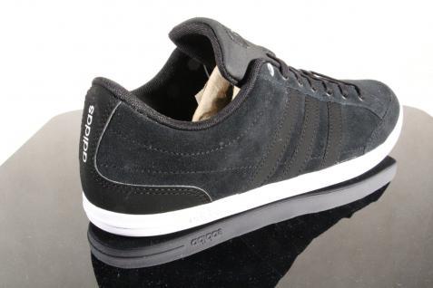 Adidas Schnürschuhe Sneakers Halbschuhe Sportschuhe CAFLAIRE Leder schwarz NEU! - Vorschau 5