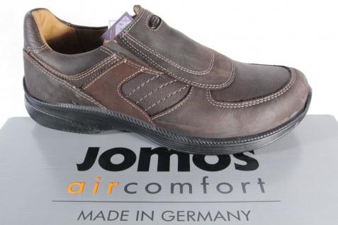 Jomos aircomfort extra Herren Slipper, Lederwechselfußbett, braun, extra aircomfort weit, NEU 7e4c0e