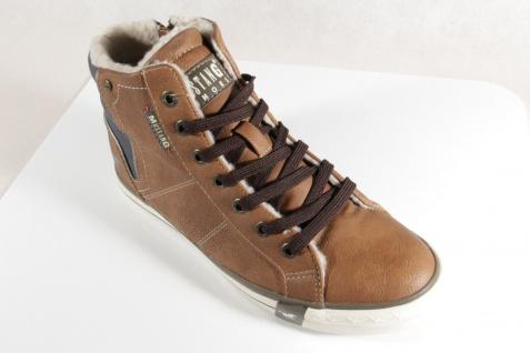 Mustang Boots Stiefel Stiefeletten Stiefelette Schnürstiefel Boots Mustang braun NEU Beliebte Schuhe 31697a