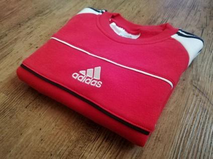 Adidas Jungen rot Sweatshirt Sweater Pullover Pulli Sport NEU - Vorschau 2