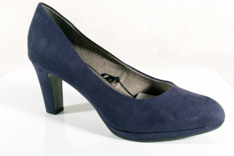 Damen Pumps Slipper, Trotteur, Pumps blau, NEU!