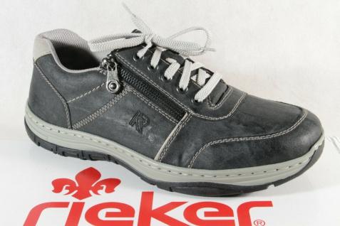 Rieker Slipper Schnürschuhe Sneakers Sneaker Halbschuhe grau 17600 NEU!!