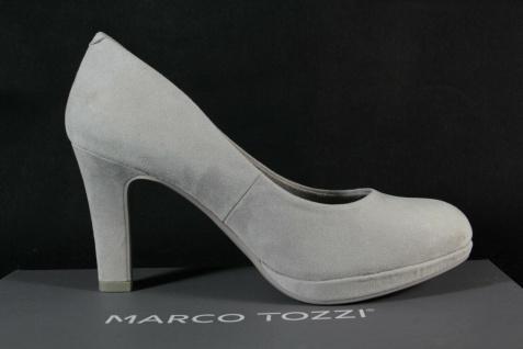 Marco Tozzi Damen Pumps Ballerina Slipper grau NEU! - Vorschau 3