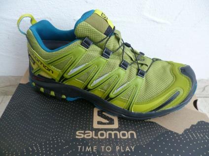 Salomon Sportschuhe Halbschuhe Sneakers XA PRO 3D wasserdicht oliv Neu!!!