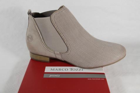 Marco Tozzi Stiefel, Stiefelette, Stiefel, Stiefel, Tozzi beige, Echtleder NEU 8828f7