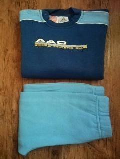 Adidas Jogger Jogginganzug Babyjogger Sweatshirt Sweathose blau hellblau NEU