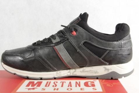 Mustang Schnürschuhe Sneaker, Halbschuhe Sportschuhe Slipper Gummisohle 4106 Neu - Vorschau 3