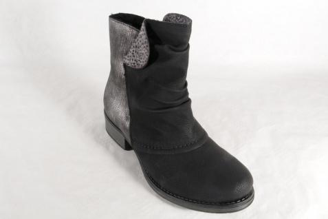 Rieker Y9790 Damen Stiefel Reißverschluss Stiefelette Stiefel schwarz Reißverschluss Stiefel NEU 3e8246