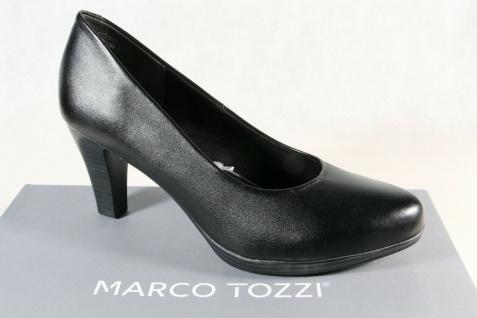 Marco Tozzi Pumps Slipper Trotteur schwarz weiche Innensohle 22408 NEU!