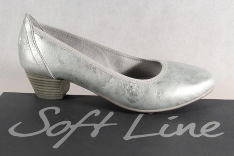 Soft Line by Jana Damen Pumps Slipper Ballerina grau Weite H NEU!