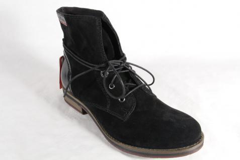 S.Oliver Schnürstiefel , Echtleder, Stiefelette, Boots, Echtleder, , schwarz 25203 NEU! Beliebte Schuhe 5fb045