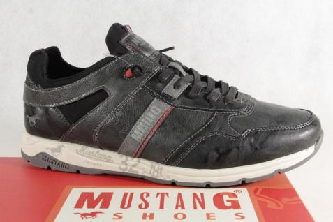 Mustang Schnürschuhe Sneaker, Halbschuhe Sportschuhe Slipper Gummisohle 4106 Neu