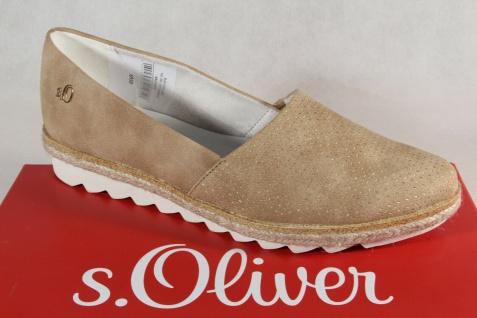 s.Oliver Slipper Ballerina Sneakers Pumps braun NEU!!
