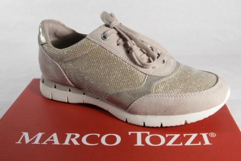 Marco Tozzi Schnürschuhe Halbschuhe Sneakers Halbschuhe Schnürschuhe beige NEU! 2885d0