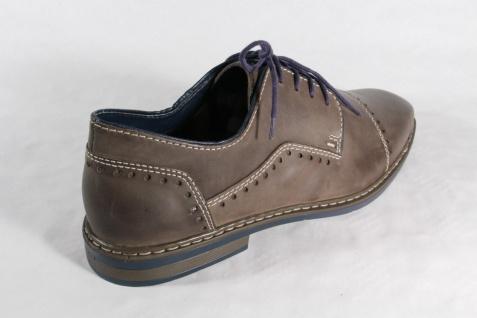 Rieker Herren Schnürschuhe Halbschuhe Sneaker Schuhe grau, Lederinnensohle, NEU! Beliebte Schuhe Sneaker 0f0cd9