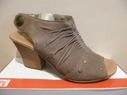 Rieker Damen RV Sandale beige/braun weiche Innensohle, RV Damen NEU!! 54f56e