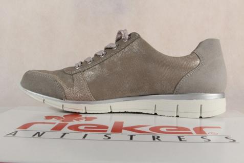 Rieker beigea, Damen Schnürschuhe, Halbschuhe, Sneakers, beigea, Rieker N4020 RV NEU! c41dd2